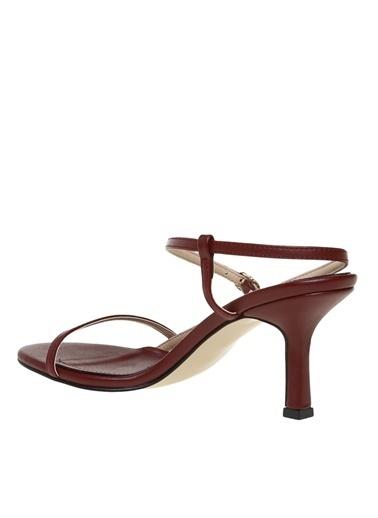 Fabrika Fabrika Kadın Bordo Topuklu Ayakkabı Bordo